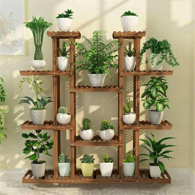 Pro Wooden Plant Stand