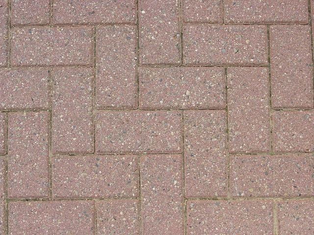 Red Paved Bricks