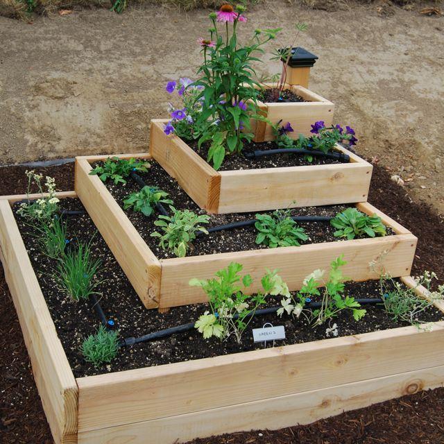 Stacked Garden 4 Layer