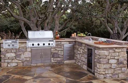 Stone Setup Kitchen