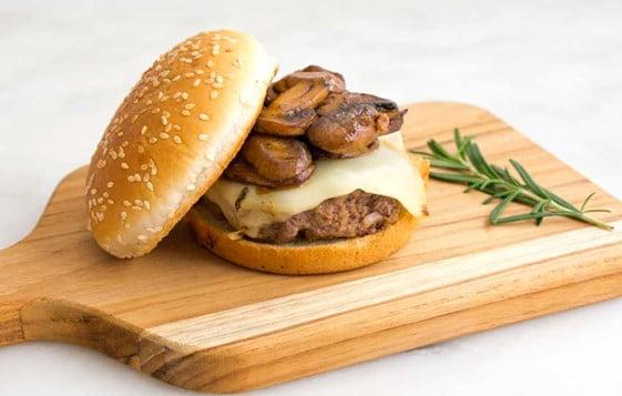 Swiss Pan Burger