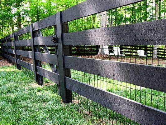 The Basic Fence Gate with Nets
