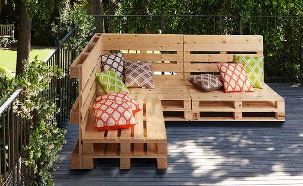 Upgraded Pallet Furniture