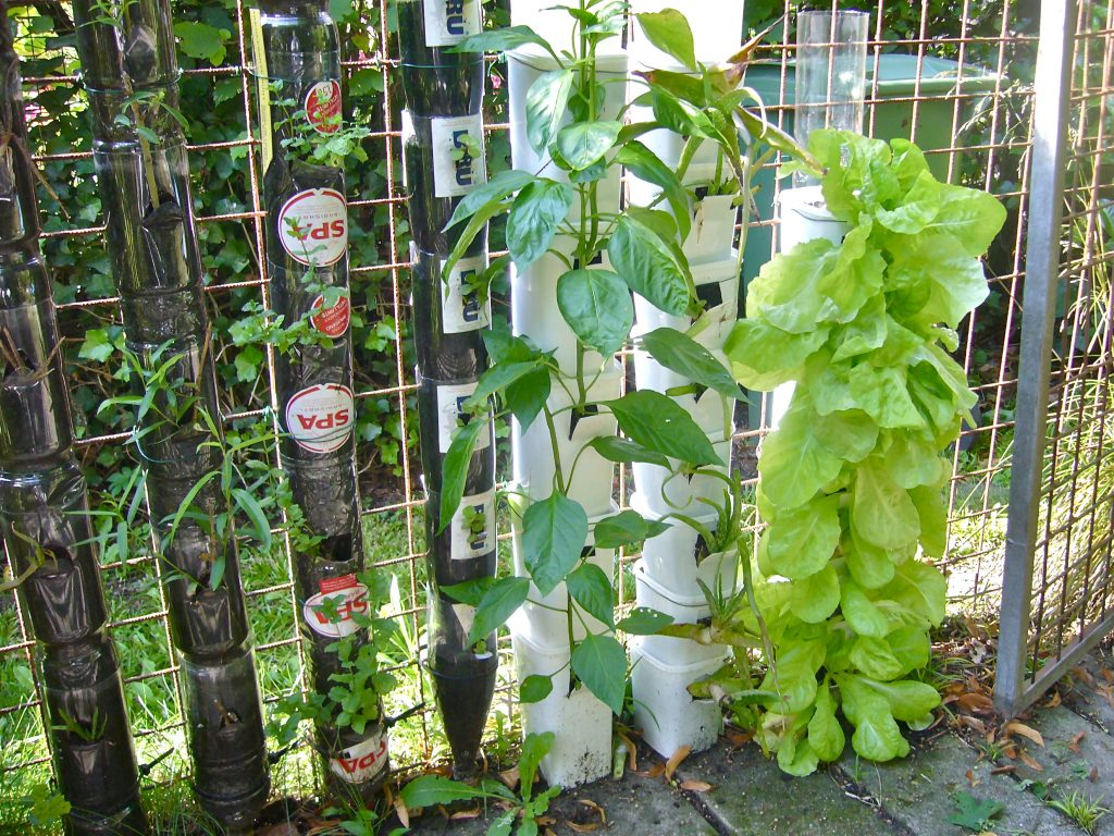 What is a Bottle Tower Gardening