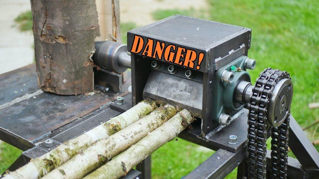 Woodchipper Log Splitter