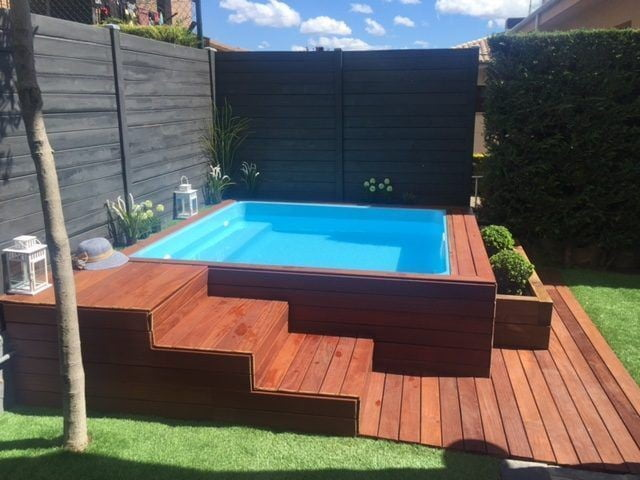 Wooden Above Ground Pool