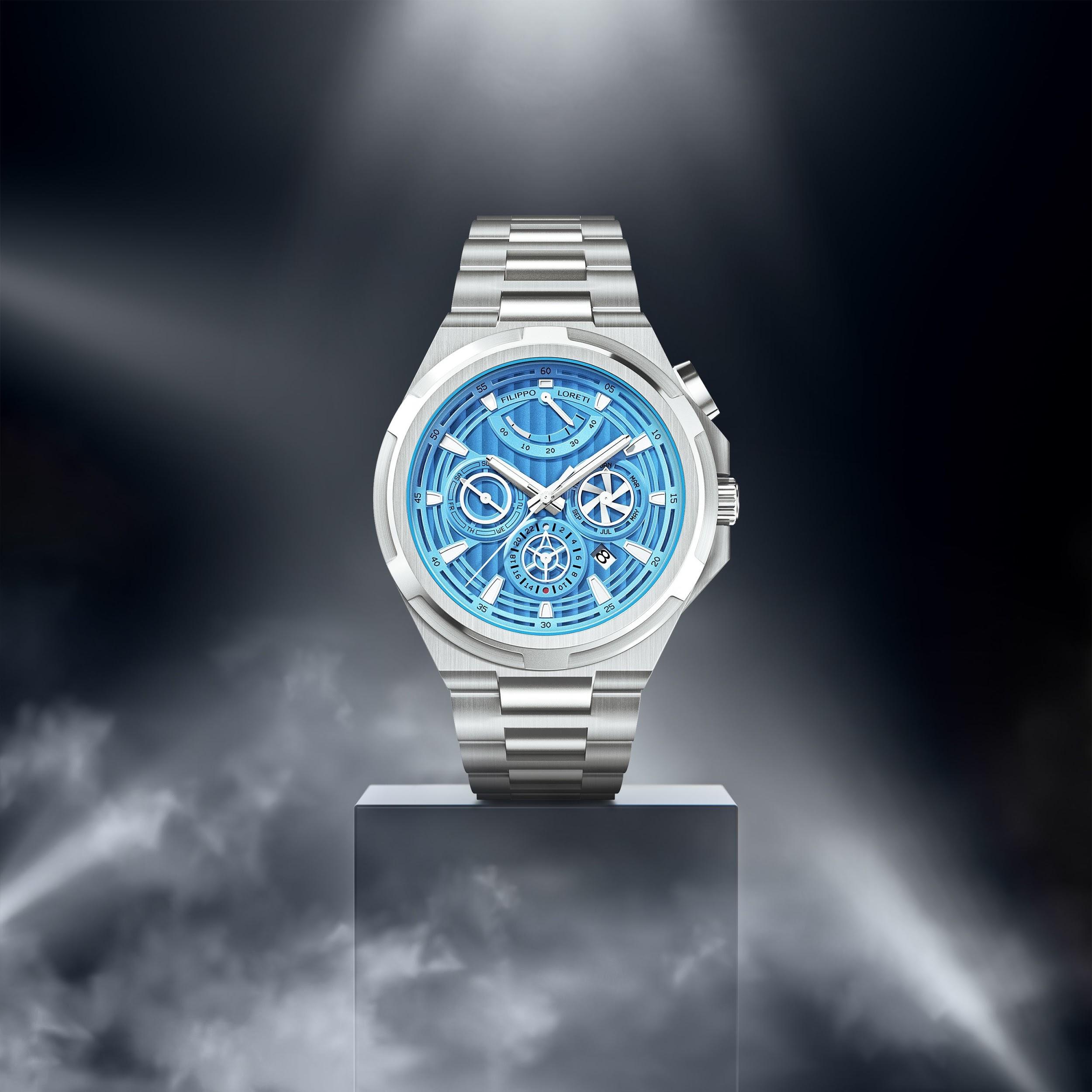 Arsenal Sky Blue Men's Watch from Filippo Loreti
