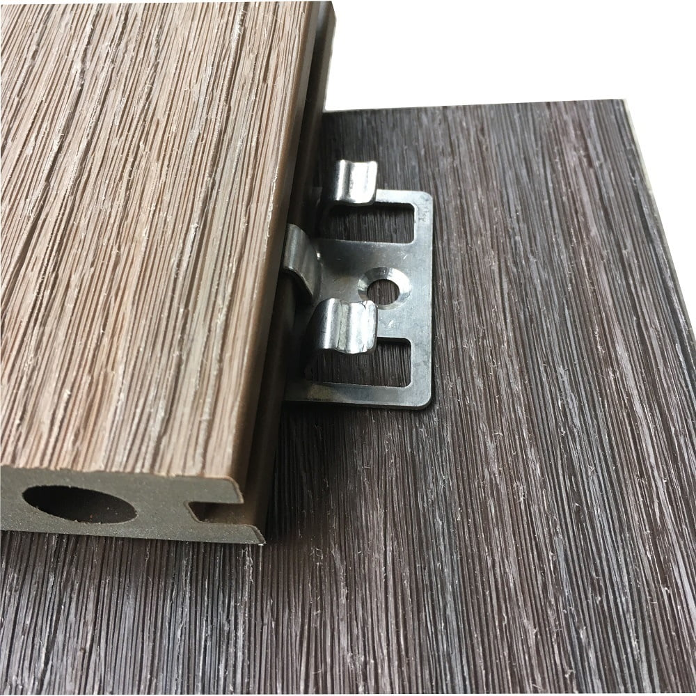 China Coating Polished Rust Resistant Connecting Fastener System Stainless Steel Metal Clips for Decking Flooring - China Decking Clips, Metal Clips